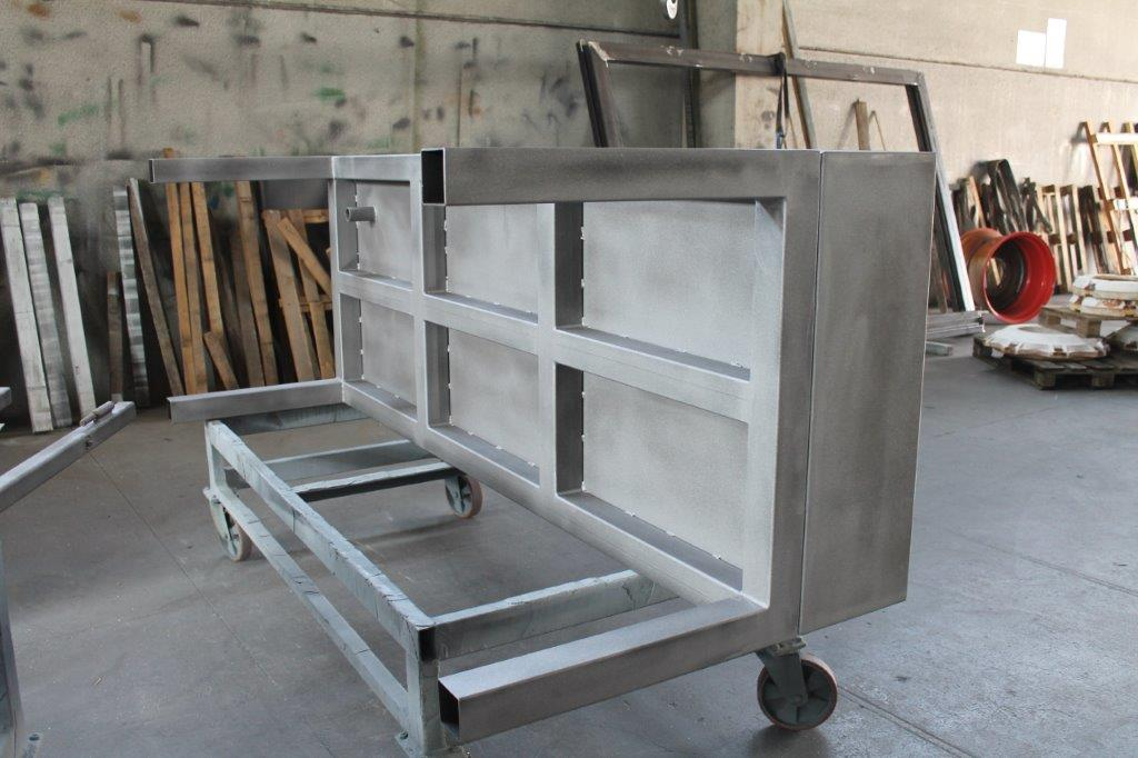 telaio-sabbiato-processo-sabbiatura-zincatura-brescia